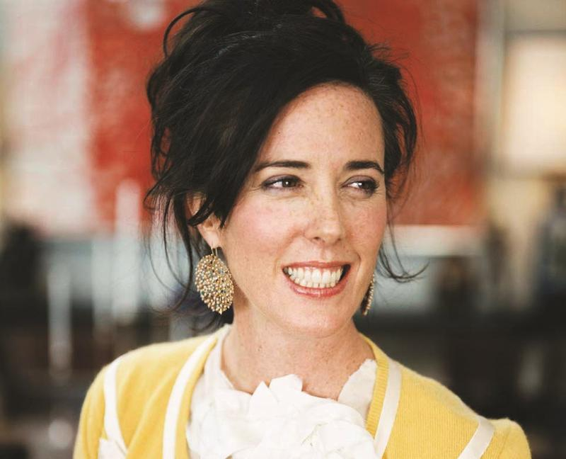 Fashion designer and Kansas City native Kate Spade was found dead at 55 on Tuesday.