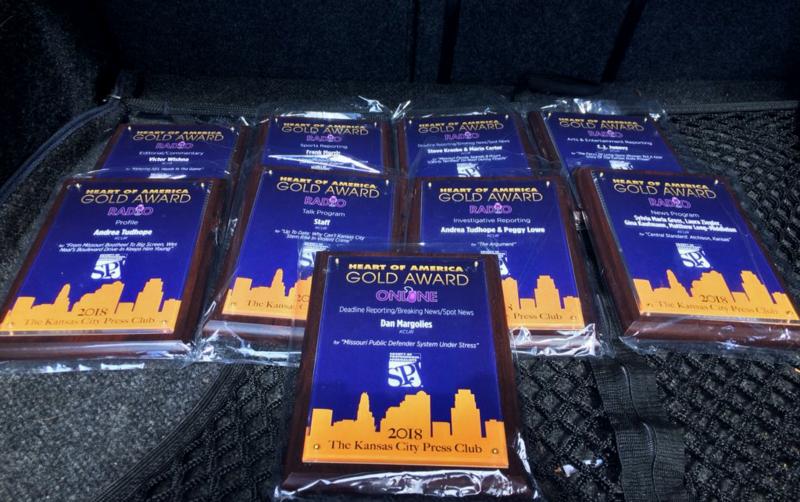 KCUR 89.3 Wins 'Radio Station Of The Year' From Kansas City Press Club —  And 5 PRNDI Awards