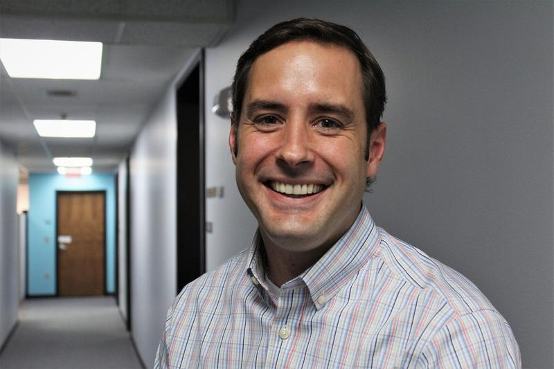 Democrat Josh Svaty won his traditionally red district's vote for a seat in the Kansas House four times.