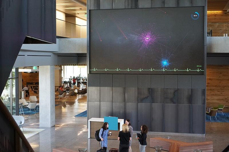 Inside Cerner's Innovations Campus, which opened last year in south Kansas City.