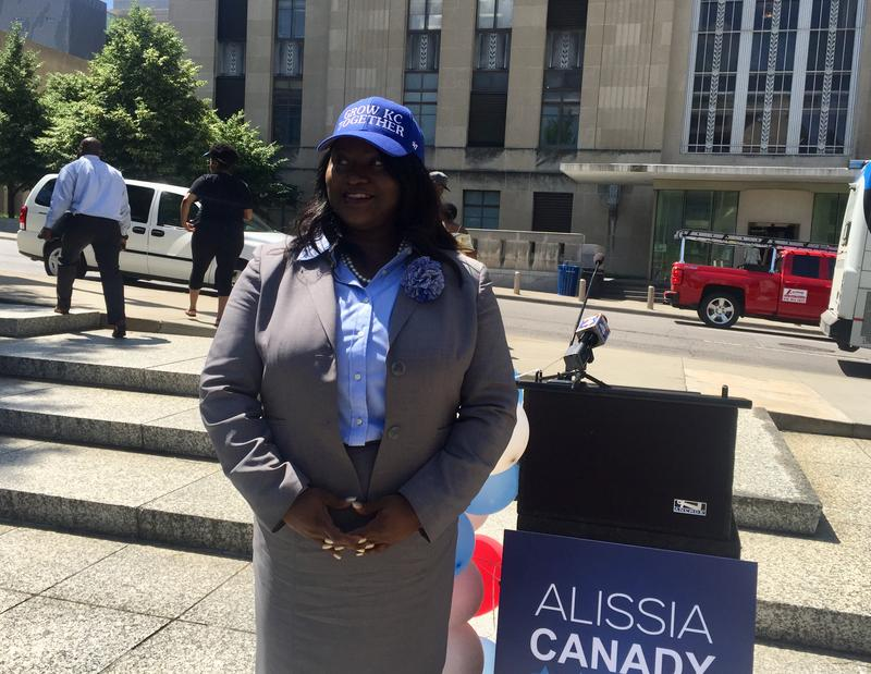 Kansas City Councilwoman Alissia Canady announced Tuesday she's entering the race for Kansas City Mayor in 2019.