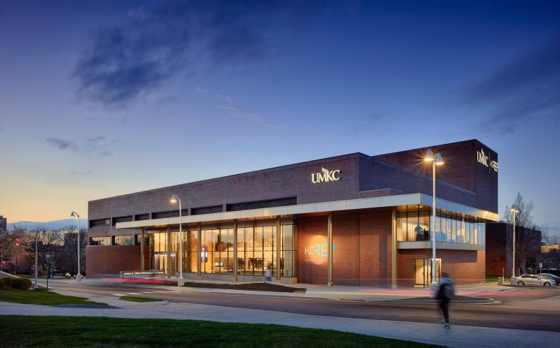 UMKC Conservatory of Music and Dance classes, offices, rehearsal and performance spaces are located in a few buildings across the Volker campus, including the James C. Olson Performing Arts Center.