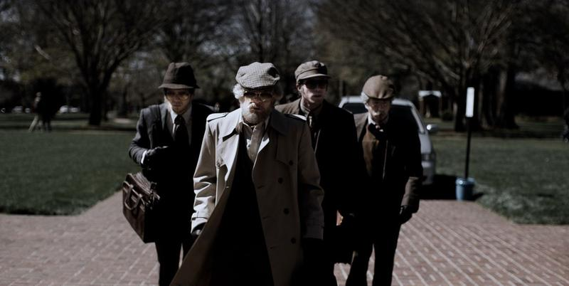 """""""American Animals"""" uses both actors and real life players to tell the true story of a group of friends determined to steal a valuable book from a university library."""