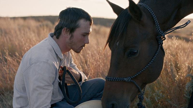 "In ""The Rider,"" Brady Jandreau plays a pensive cowboy, whose luck runs out in the aftermath of a near-fatal rodeo accident."