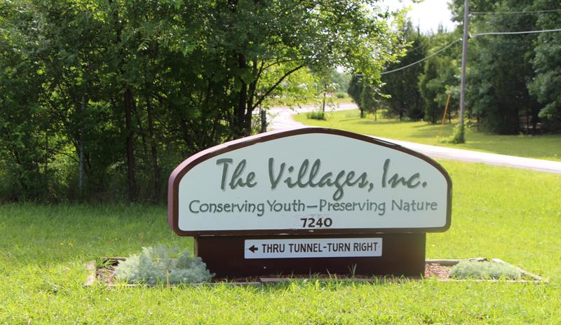 The Villages' shelter on a nature preserve on the west outskirts of Topeka. Lawyers are volunteering to help children there in the custody of the U.S. Office of Refugee Resettlement who were separated from their parents at the border.