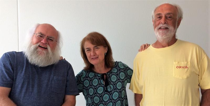 Kansas City Symphony musicians (from left) Steve Seward, Marita Abner and Ken Lawrence retired at the end of the season after 36 years with the Symphony.