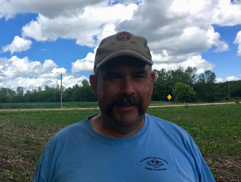 Kansas farmer Glenn Brukow has reason to expect a good corn and soybean crop this year, but he's concerned about an intensifying trade war.