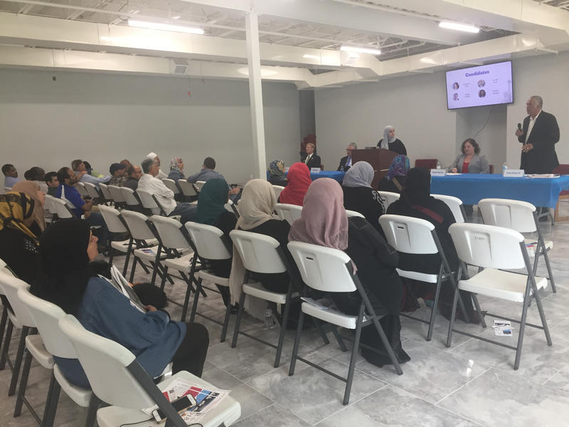 Around 40 people attended a nonpartisan town hall hosted by the KC Muslim Civic Initiative.
