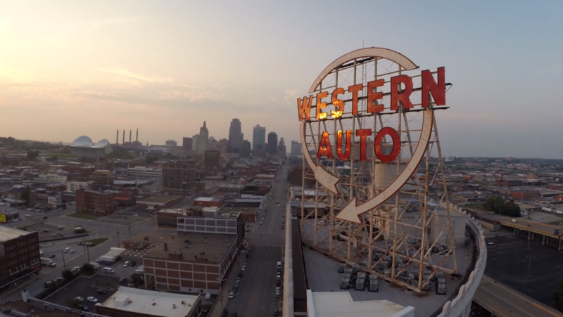Kansas City's iconic Western Auto sign will once again light the cityscape this weekend.