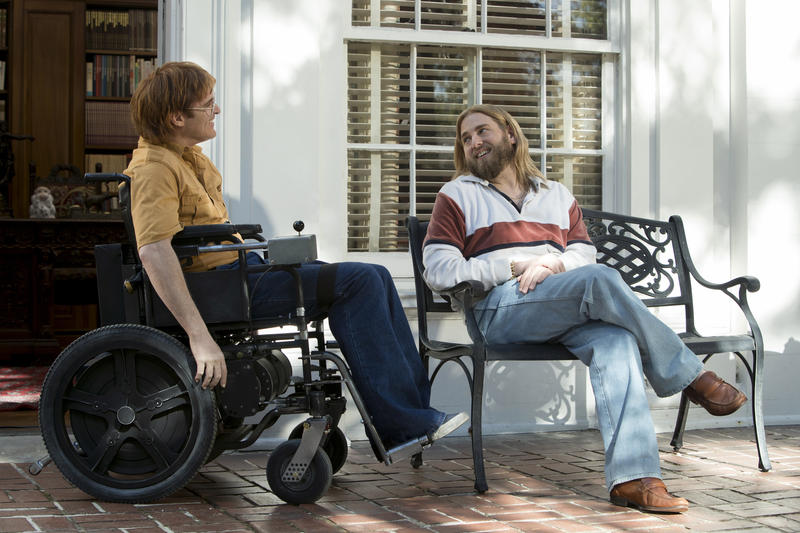 """""""Don't Worry, He Won't Get Far on Foot,"""" tells the story of a quadriplegic who becomes a cartoonist."""