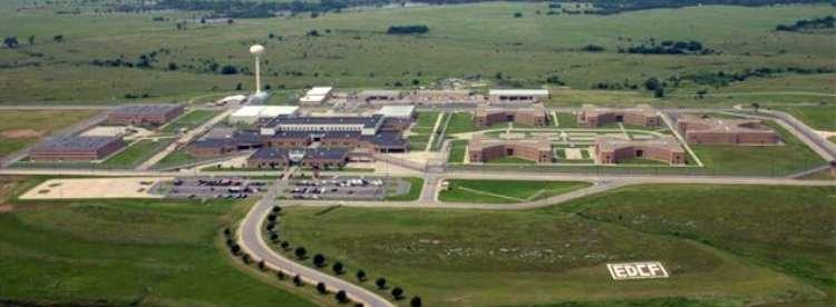 A violent incident Sunday at El Dorado Correctional Facility, about 30 miles from Wichita, left the facility damaged.