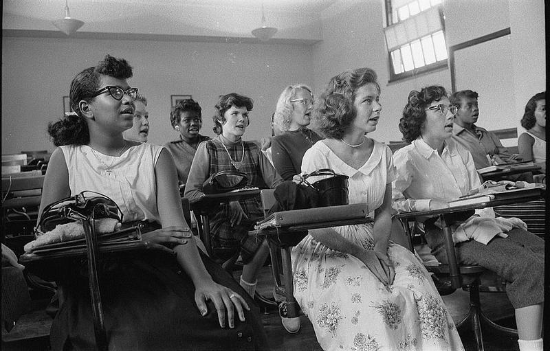 Rachel Devlin's 'A Girl Stands at the Door' tells of the lesser-known young women of color who were at the forefront of the movement to integrate American education.