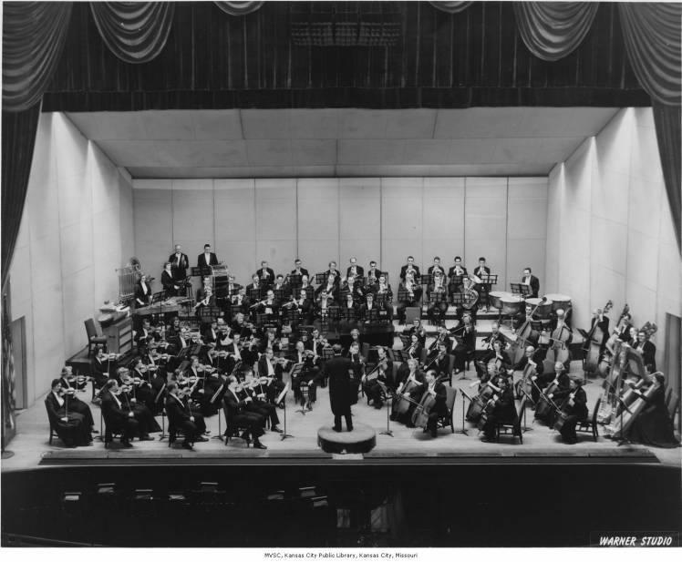 Krysta Eyler's Fringe Festival production of 'Overture the Musical' pays homage to the Kansas City Philharmonic, shown here in the mid-1950s.