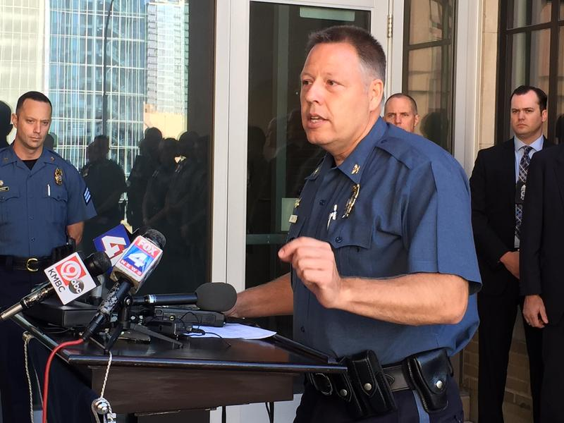 After a violent couple of days, Kansas City Police Department Chief Rick Smith called on citizens to help end violence.