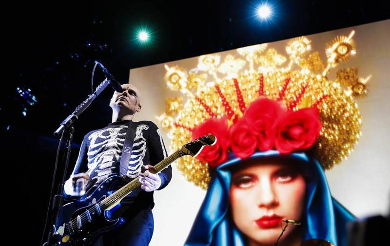 The Smashing Pumpkins at Madison Square Garden in New York earlier this month.
