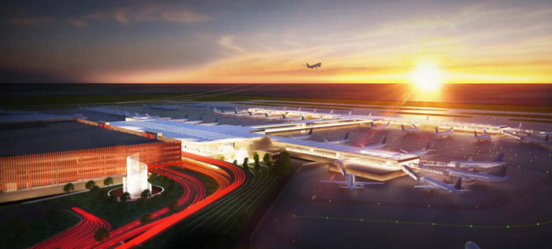 Edgemoor released new concept designs on Thursday for the single-terminal at KCI.