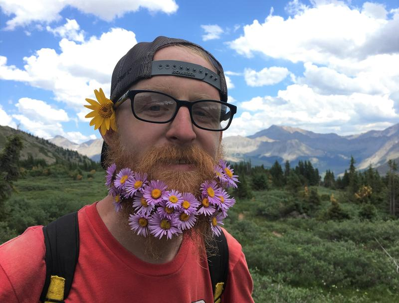 One of the hikers on the Colorado Trail was Mark Holland, who goes by the trail name Gringo.