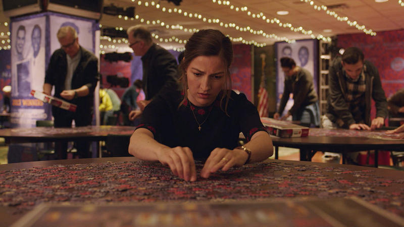 "In Marc Turtletaub's ""Puzzle,"" Kelly Macdonald uses competitive puzzling to escape tensions at home."