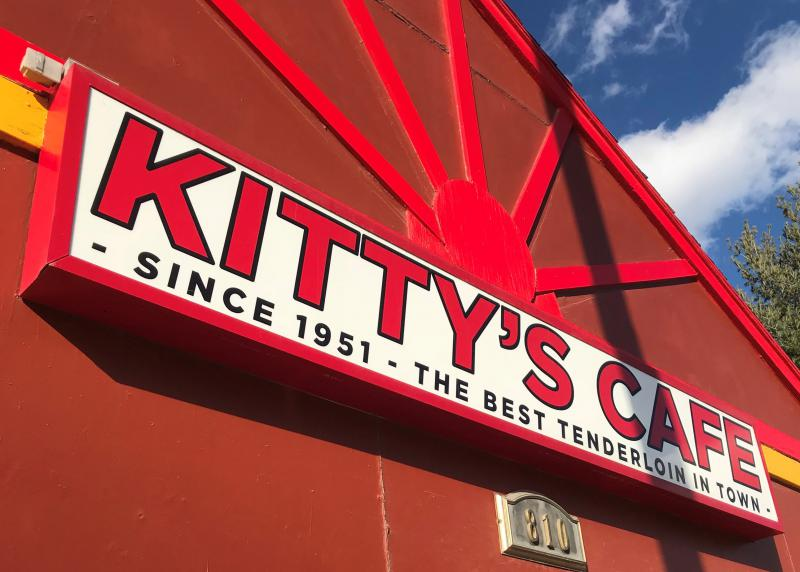 Kitty's Cafe has been located at the same spot in Kansas City's midtown since 1951.