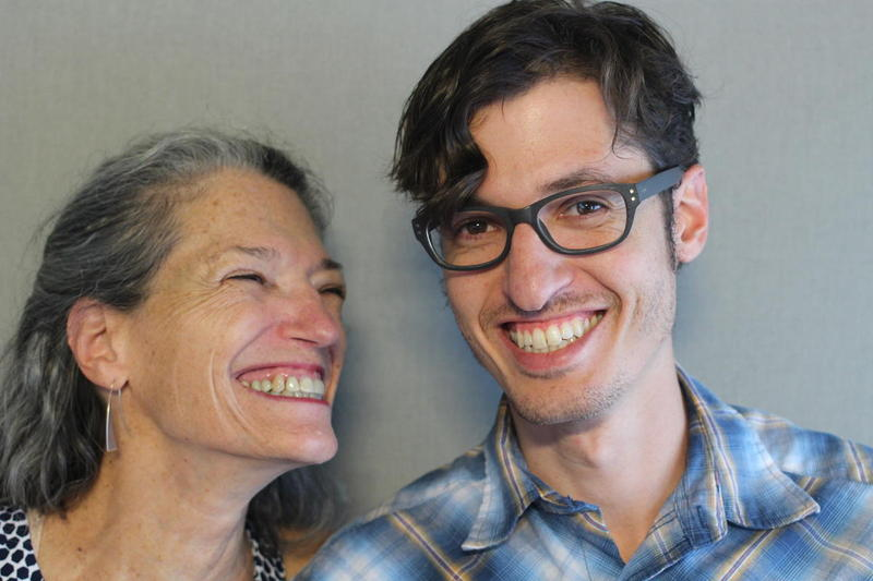 Diane Botwin and her son, Solomon Alpert discussed what it was like to have Diane's father move into their home at the StoryCorps MobileBooth.