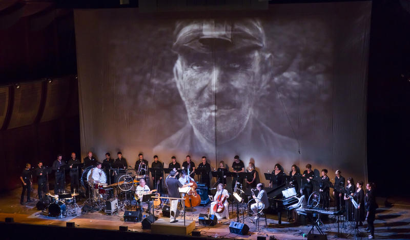 A performance of Julia Wolfe's Pulitzer Prize-winning oratio 'Anthracite Fields.'