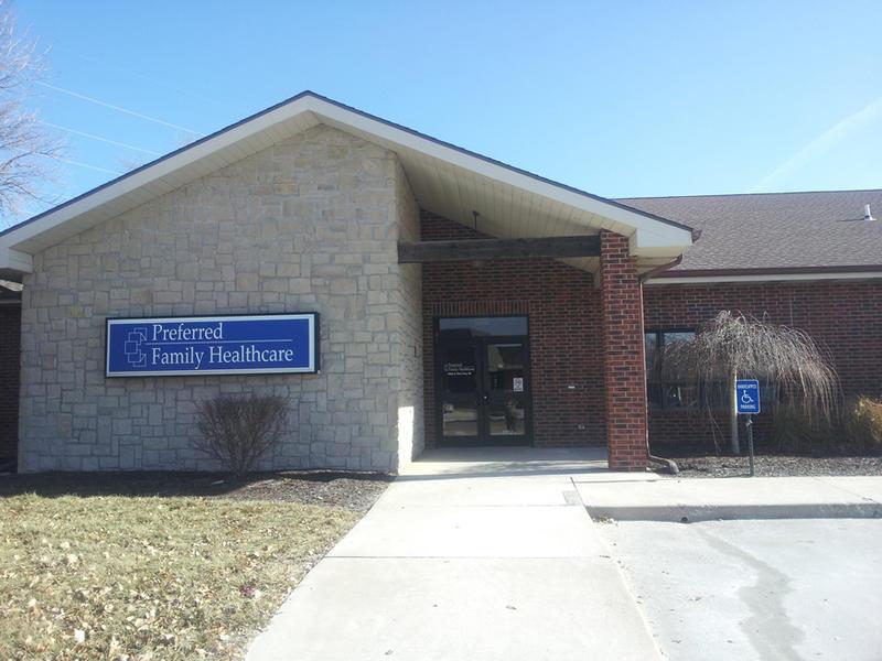 Preferred Family Healthcare's location in Olathe, Kansas.