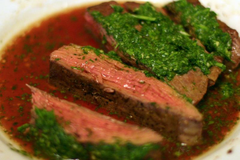 All of KCUR's Food Critics are fans of chimichurri sauce, an Argentinian steak sauce, but all stipulated that a good one needs to be made fresh.