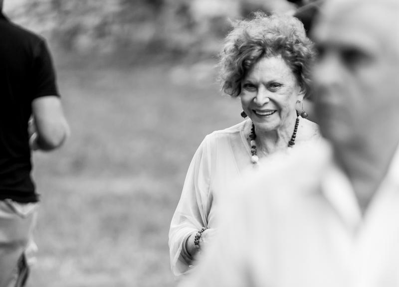 Marilyn Strauss at a Heart of America Shakespeare Festival performance in Kansas City's Southmoreland Park.