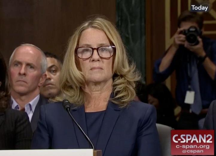 Christine Blasey Ford testified Thursday in front of the Senate Judiciary Committee. She alleges Supreme Court nominee Brett Kavanaugh sexually assaulted her.