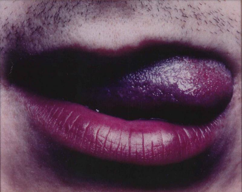 Matthias Herrmann's 'Untitled (Lips),' a 1994 chromogenic color print, is included in the 'Flaw(less' exhibition at the Kemper Museum of Contemporary Art. A gift of Peter Norton, it is in the museum's permanent collection.