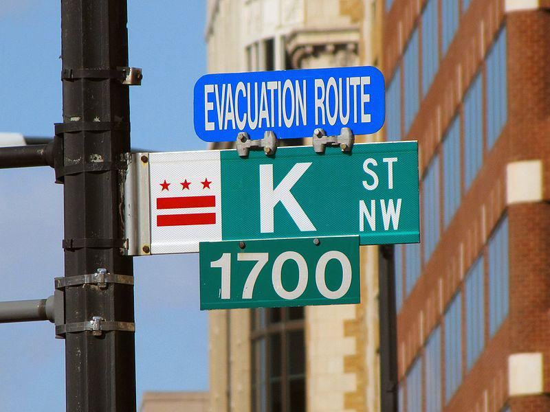 K Street in Washington has long been known as a center for the lobbying industry, think tanks and advocacy groups.