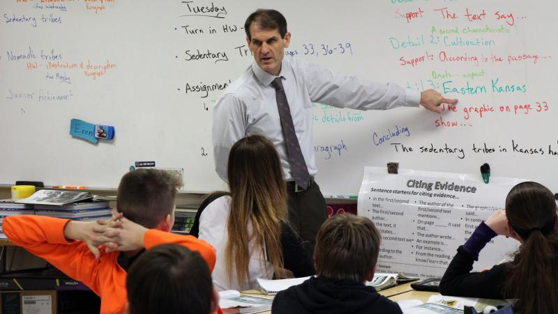 The candidates running for governor differ over the best way to keep classrooms operating.