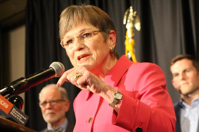Democratic state Sen. Laura Kelly was elected the next governor of Kansas on Tuesday.