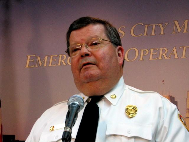 Kansas City Fire Chief Smokey Dyer, pre-retirement.