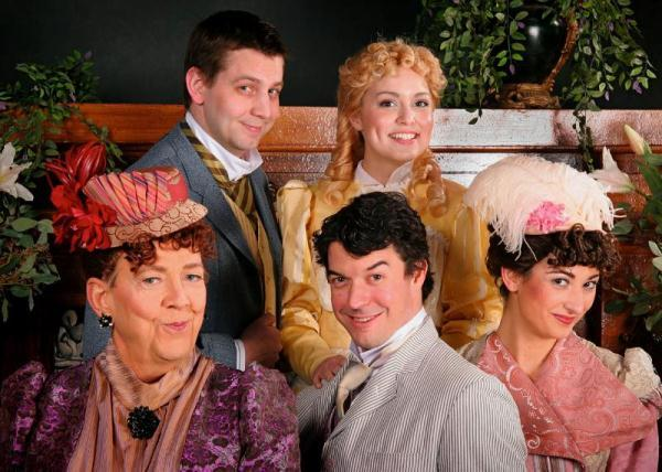 "Cast of ""The Importance of Being Earnest."""
