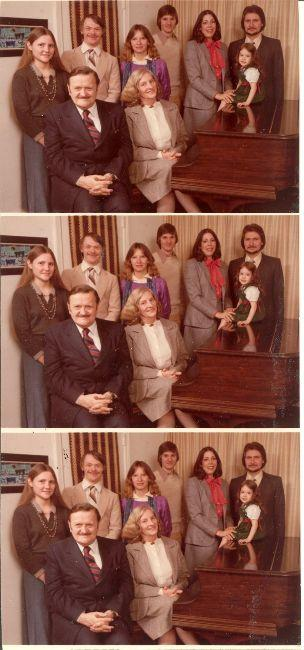 Bodine family photos.