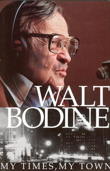 Cover of Walt's book, 'My Times, My Town.'