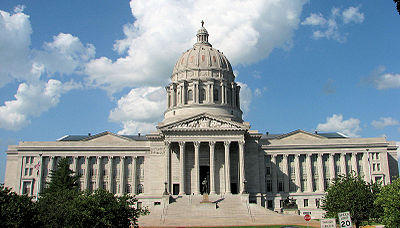 The Missouri Capitol Building in Jefferson City