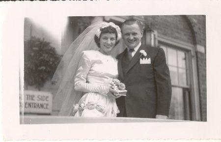 Walt's wedding. The Bodines.