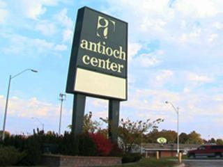 The Antioch Center sign: a Northland fixture since 1956