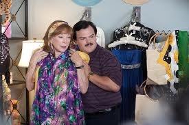 "Shirley MacLaine & a hopelessly devoted Jack Black in ""Bernie"""