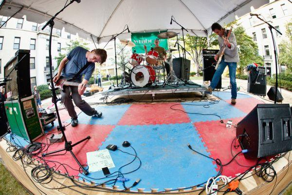 Mission of Burma is one of the eighty bands performing this weekend at Middle of the Map Fest.