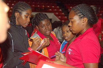 Students from the Youth Leadership Summit from the Urban League's national conference in Boston last year
