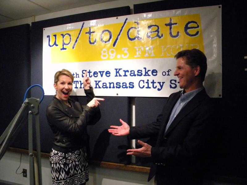 Mezzo Soprano Joyce DiDonato and Up to Date host Steve Kraske