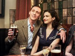 "Tom Hiddleston & Rachel Weisz in ""The Deep Blue Sea"""