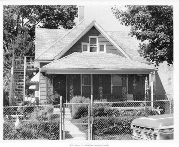 The Disney family home at 3028 Bellefontaine, Kansas City, Mo.