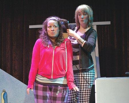 Dina Thomas as Amy and Katie Gilchrist as Katharine, Amy's mom.