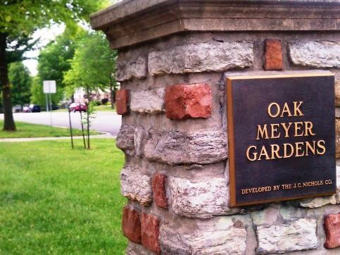 New tree in Oak Meyer Gardens Neighborhood