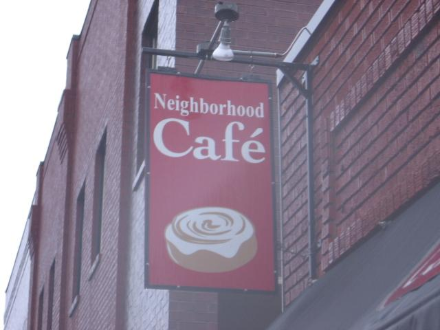 Neighborhood Cafe in downtown Lee's Summit