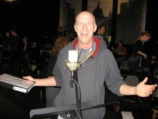"Don Richard at ""Sweeney Todd"" rehearsal"